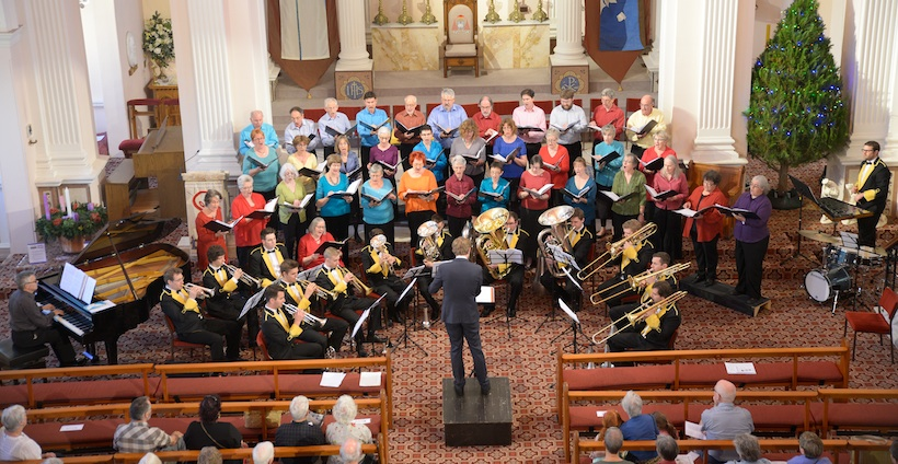choir Christmas performance